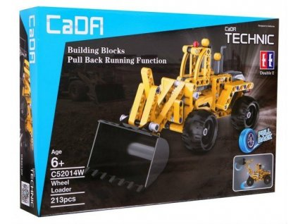 Stavebnice Technic buldozer žlutý