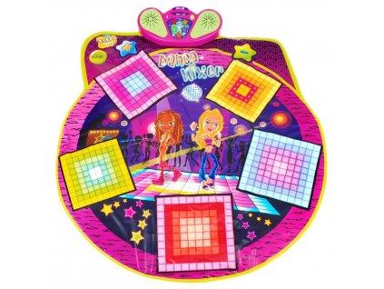 Taneční podložka twister dance mixer playmat