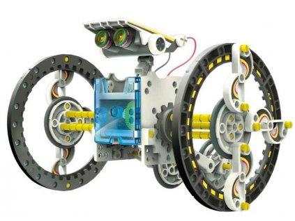Naučná robotická solární sada 14 v 1