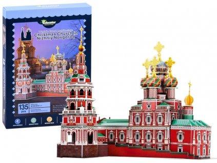 pol pl Puzzle 3D cerkiew katedra Nowogrod 135ele ZA2904 14448 1