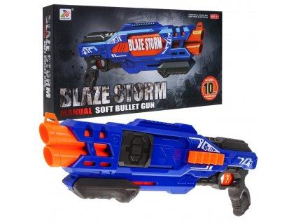 Blaze storm pistole modrá 1