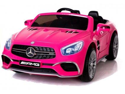 pol pl Pojazd na Akumulator Mercedes SL65 LCD Rozowy 3753 5