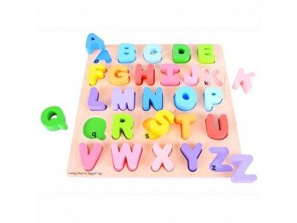 157337 bigjigs baby abeceda velka pismena