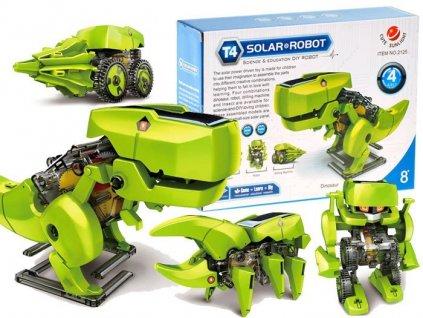 Mamido Solarni robot dinosaurus 4v1 (8)