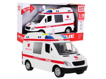 Karetka Ambulans 1 16 Swiatla Dzwieki [28761] 1200