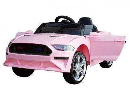 elektrické autíčko sport GT růžové (3)