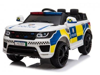pol pl Auto na Akumulator Policja JC002 Bialy 4444 2