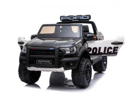 pol pl Auto na Akumulator Ford Raptor Police DK F150RP Czarny Lakier 4699 6