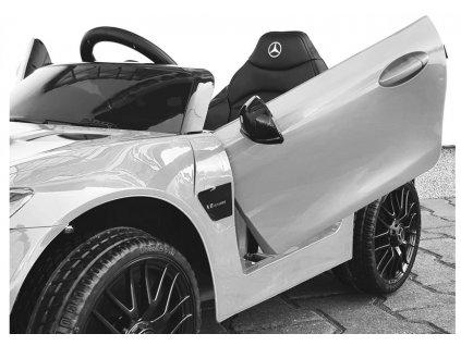 Elektrické autíčko Mercedes AMG GT  bílé