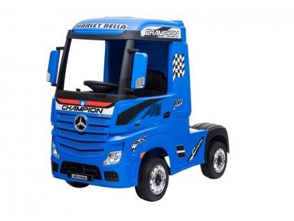 pol pl Auto na Akumulator Mercedes Actros Niebieski 4596 2