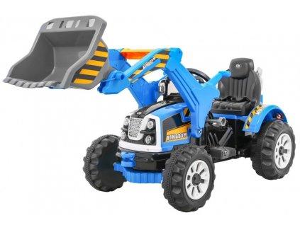 Pojazd Koparka Traktor Niebieska [31025] 1200