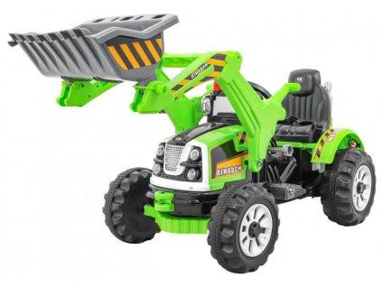 Pojazd Koparka Traktor Zielona [31015] 1200