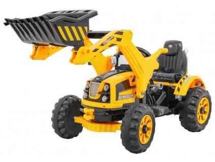 Pojazd Koparka Traktor Zolta [31049] 1200