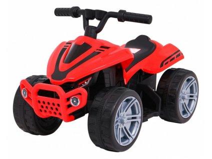 Pojazd Quad Little Monster Czerwony [40349] 1200