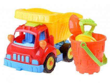 nákladní autíčkko s formičkami do písku (5)