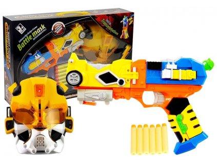 pistole 2v1 na pěnové náboje