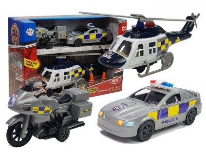 sada policejních vozidel (1)