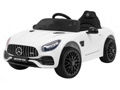 Elektrické autíčko Mercedes Benz GT bílé