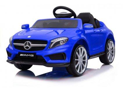 Elektrické autíčko Mercedes GLA 45 modrý lak3