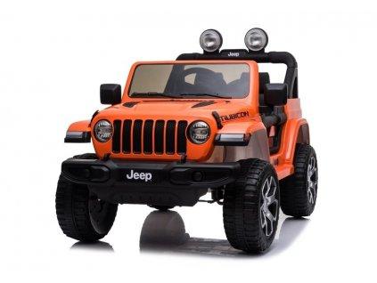 pol pl Auto na Akumulator Jeep Wrangler Rubicon Pomarancz 5283 3