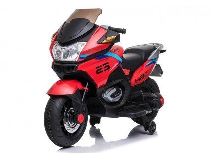 Dětská elektrická motorka XMX609 červená2
