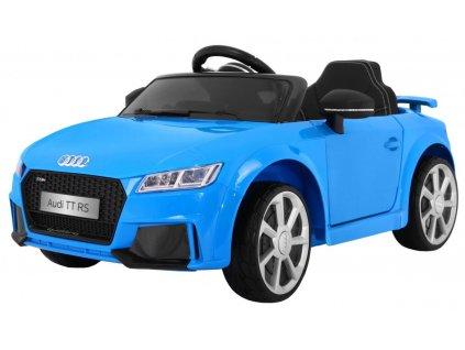 Elektrické autíčko Audi TT RS modré3