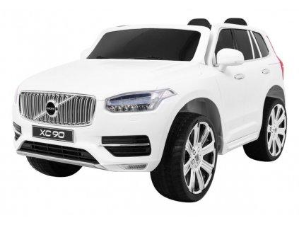 Elektrické autíčko VOLVO XC90 s ovladačem bílá