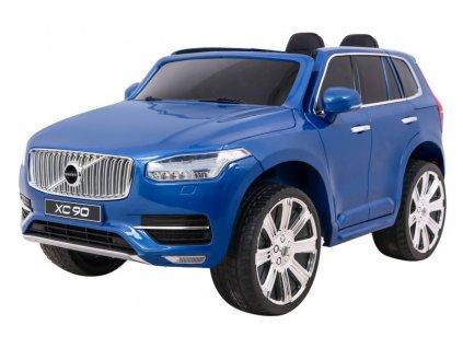 Elektrické autíčko Volvo XC90 s ovladačem lakované modré1