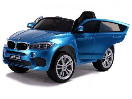 Elektrické autíčko BMW X6 lakované modré4
