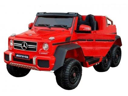 pol pl Pojazd Na Akumulator Mercedes 6x45W Czerwony 4711 4