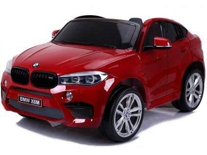 Elektrické autíčko BMW X6M lakované červené4