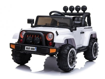 pol pl Auto na Akumulator Jeep BRD 7588 Bialy 3897 1