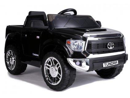 Elektrické autíčko Toyota Tundra lakované černé