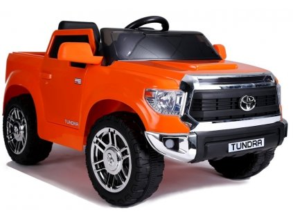 Elektrické autíčko Toyota Tundra oranžové