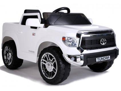 Elektrické autíčko Toyota Tundra bílé
