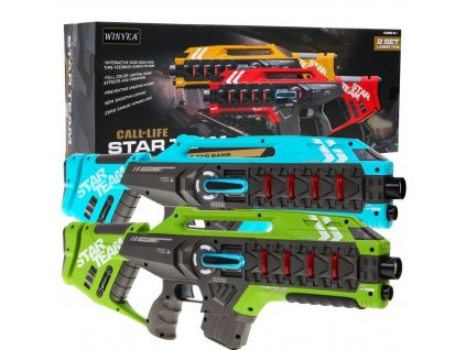 Pistolety Laserowe Star Team Laser Tag 36822 1200
