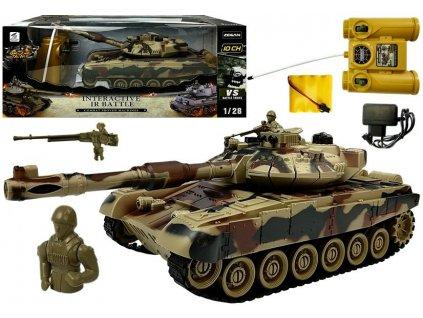 Auto na dálkové ovládání tank 42 cm R:C