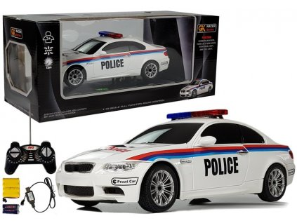Auto na dálkové ovládání Policie4