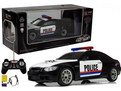 Auto na dálkové ovládání Policie