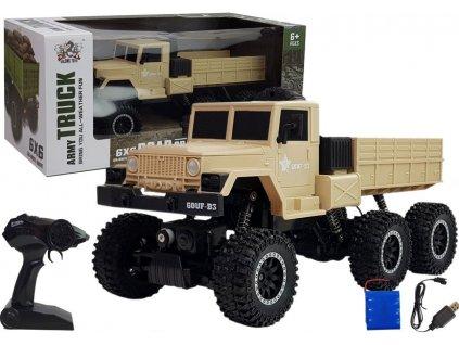 Vojenské vozidlo na dálkové ovládání 6x6