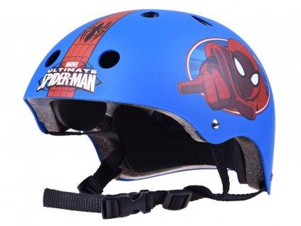 Mamido Detska cyklisticka prilba spiderman (5)