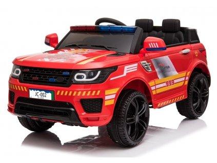 Elektrické autíčko Hasiči červené1