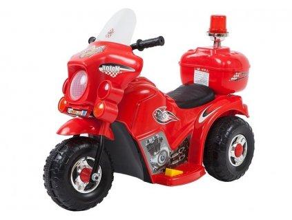 dětská elektrická motorka červená
