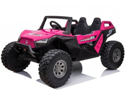 dětké elektrické auto buggy růžové (2)