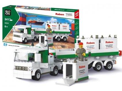 mamido nákladní auto raben stavebnice (3)
