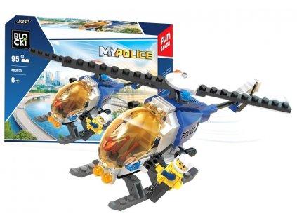 pol pl Klocki Blocki MyPolice Helikopter Policyjny 95el KB0655 6500 1