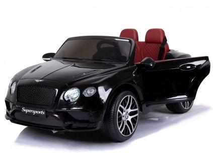 mamido dětské elektrické autíčko bentley supersports černé (4)