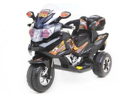 dětská elektrická motorka černá (2)