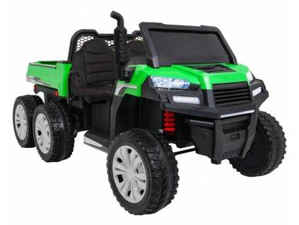 dětské elektrické auto buggy farmer truck zelené (5)