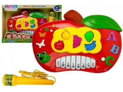 dětský interaktivní klavír červené jablko (3)